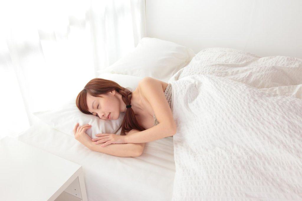ロングヘアの寝る時のケアで女子力アップ➀