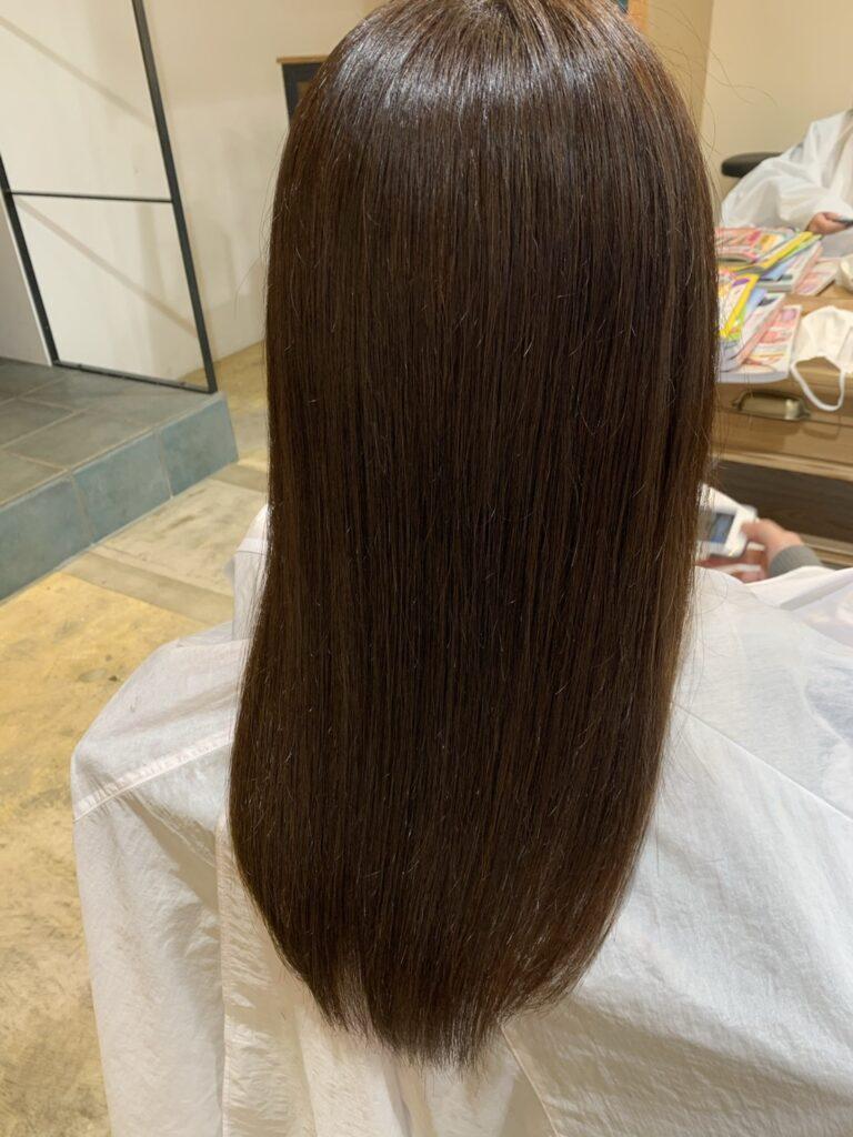 縮毛矯正か髪質改善トリートメント