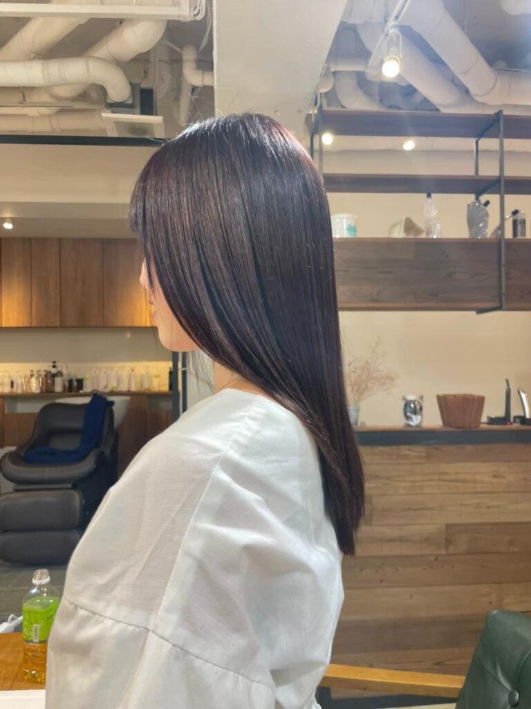 ロング髪質改善トリートメント画像